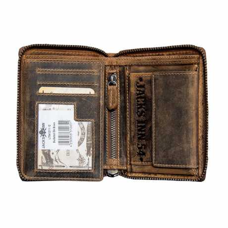 Jack's Inn 54 Jack's Inn 54 Bullshot Wallet dark brown  - LT541211-12