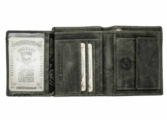 Jack's Inn 54 Jack's Inn 54 Rock Hard Styles Havanna Wallet black  - LT54904-01