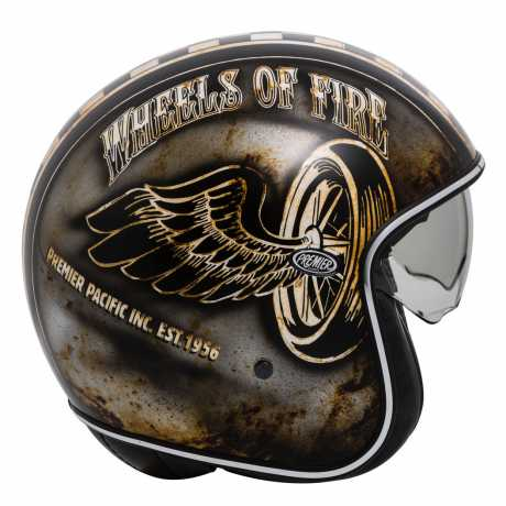 Premier Helmets Premier Vintage Jethelmet OP 9 BM  - PR9VIN71