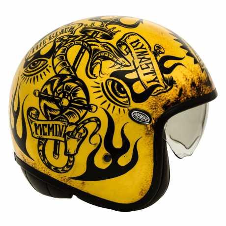 Premier Helmets Premier Vintage Jethelm BD 12 BM  - PR9VIN72