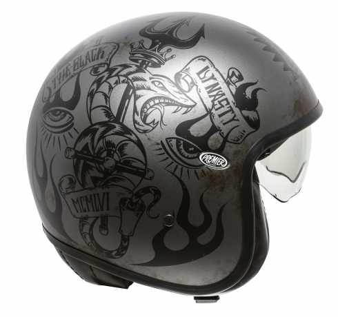 Premier Helmets Premier Vintage Jethelmet BD 17 BM  - PR9VIN76V