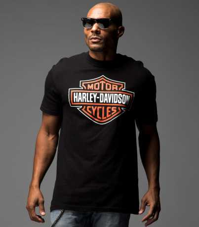 H-D Motorclothes Harley-Davidson T-Shirt Bar & Shield black  - R302000030V