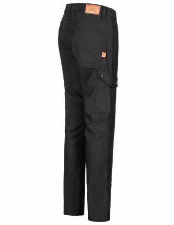 Rokker Rokker Black Jack Slim Jeans schwarz  - ROK1101