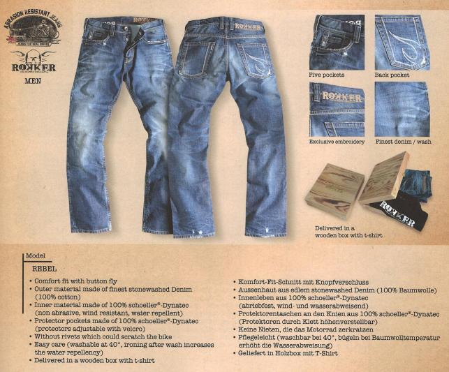 rokker jeans the rebel im thunderbike shop. Black Bedroom Furniture Sets. Home Design Ideas