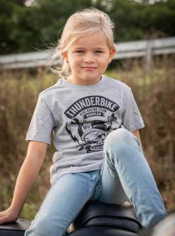 Thunderbike Clothing Thunderbike Kids T-Shirt Boneracer Grau 140 - 19-01-1153/140