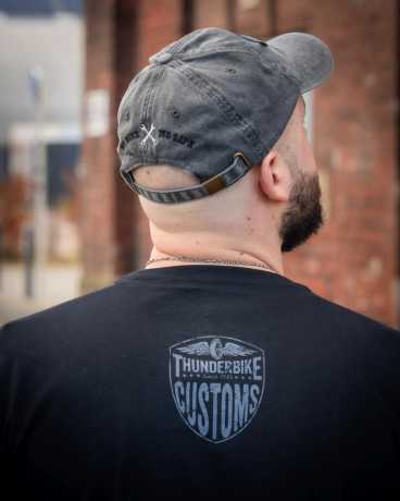 Thunderbike Clothing Thunderbike T-Shirt New Custom, black XXL - 19-31-1011/022L