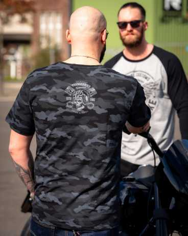 Thunderbike Clothing Thunderbike T-Shirt Bearded Skull Schwarz  - 19-31-1106V