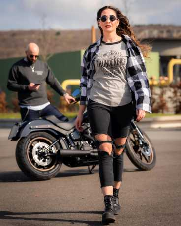 Thunderbike Clothing Thunderbike Plaid Shirt Original white/black 3XL - 19-32-1272/222L