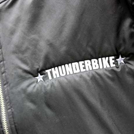 Thunderbike Clothing Thunderbike Street Bomber Jacket, black  - 19-60-080V