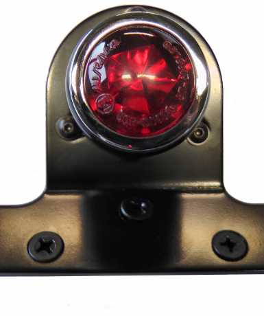 Thunderbike LED-Rücklicht Old School TYP4 schwarz, rotes Glas  - 255-066