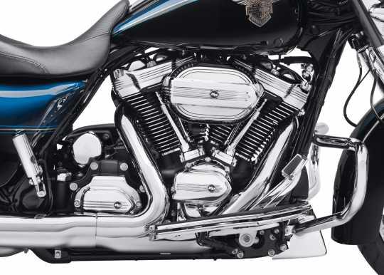 Harley-Davidson Defiance Upper Rocker Covers - Chrome  - 25700663