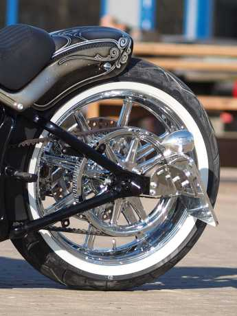 Thunderbike Seitlicher Kennzeichenhalter kurz schwarz - 28-70-431