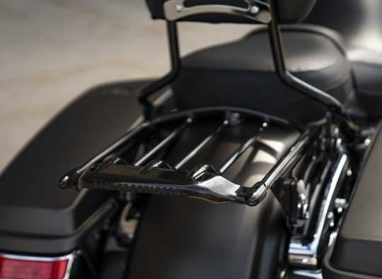 Harley-Davidson Air Wing Detachable Two-Up Luggage Rack gloss black  - 50300008A