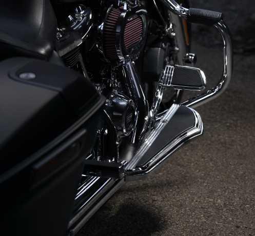 Harley-Davidson Defiance Fahrer Trittbretter Kit chrom  - 50500515
