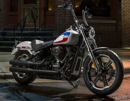 Harley-Davidson Defiance Rider Footpegs black cut  - 50500804
