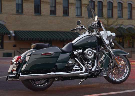 "Harley-Davidson Low-Profile Solo Seat smooth vinyl 15""  - 52000249"