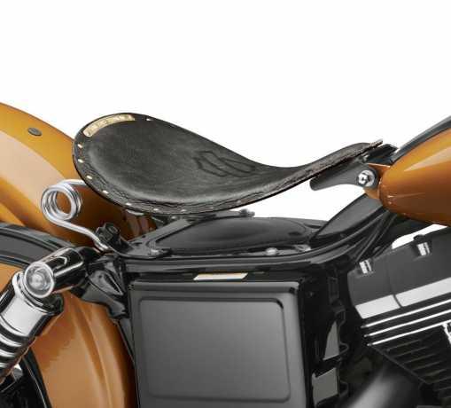 Harley-Davidson Bobber Solo Sattel schwarz distressed  - 52000277