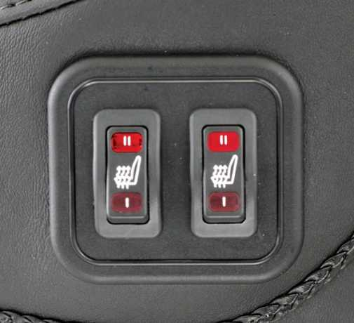 "Mustang Mustang beheizter Super Touring Sitz 19"", schwarz  - 537065"