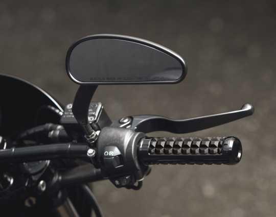 Harley-Davidson Profile Custom Spiegel schwarz matt  - 56000135