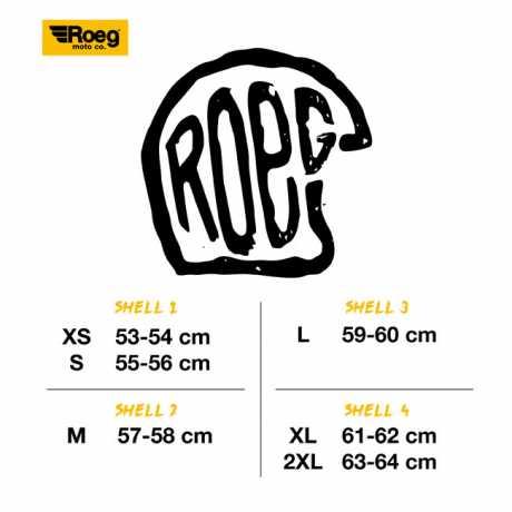 Roeg Roeg Jett Helmet ECE Gloss Black  - 563695V