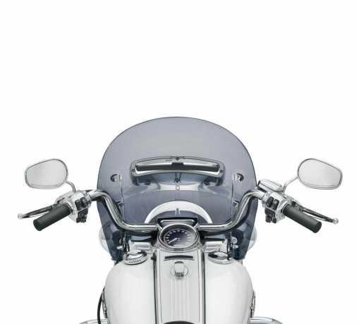 "Harley-Davidson Belüftete Windsplitter Windschutzscheibe 16"" dunkel getönt  - 57400176"