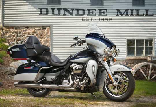 """Harley-Davidson Wind Splitter Windschutzscheibe 10"""" leicht getönt  - 57400206"""