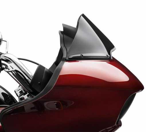 Harley-Davidson Geteilte Windschutzscheiben-Verkleidung schwarz  - 57400320