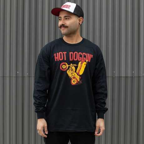 Biltwell Biltwell Hot Doggin' Longsleeve Shirt schwarz  - 576294V