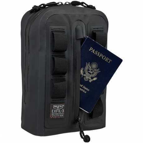 Biltwell Biltwell EXFIL-3 Bag black  - 577703