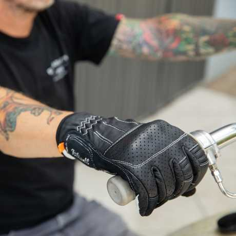 Biltwell Biltwell Borrego Gloves Black/Cement  - 581284V