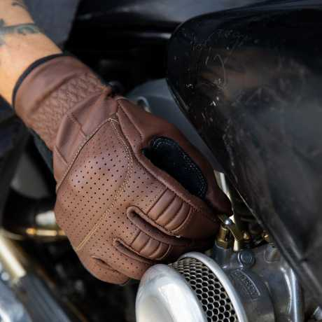 Biltwell Biltwell Borrego Gloves Chocolate/Black  - 581296V