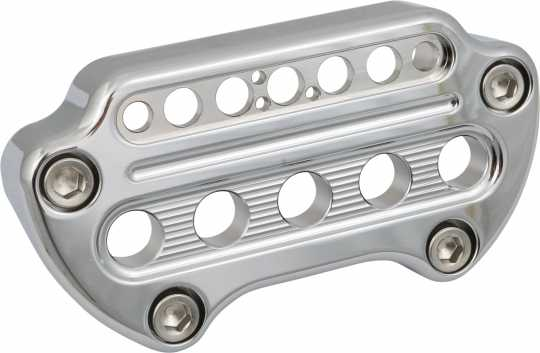 Joker Machine Joker Indicator Handlebar Clamp chrome  - 61-9886