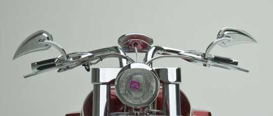 Arlen Ness Arlen Ness Rad III Teardrop Spiegel  - 63-1122V