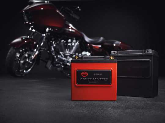 Harley-Davidson Lithium LiFe 8Ah Battery  - 66000175