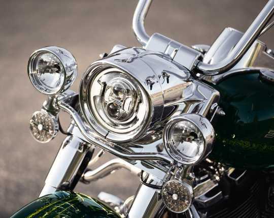 Harley-Davidson Visor Style Trim Ring for Headlamp chrome  - 69733-05