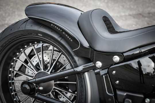"Thunderbike Rear Fender Steel 200 mm / 18"" Taillight & turn signals - 72-74-025"