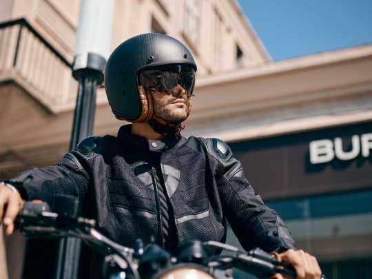 Scorpion Helmets Scorpion Belfast Carbon Noir Helm matt  - 81-261-10V