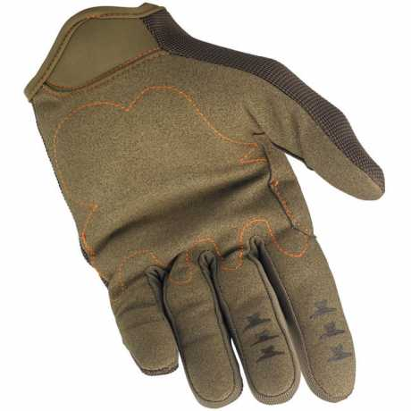 Biltwell Biltwell Moto Gloves, brown / orange  - 956943V