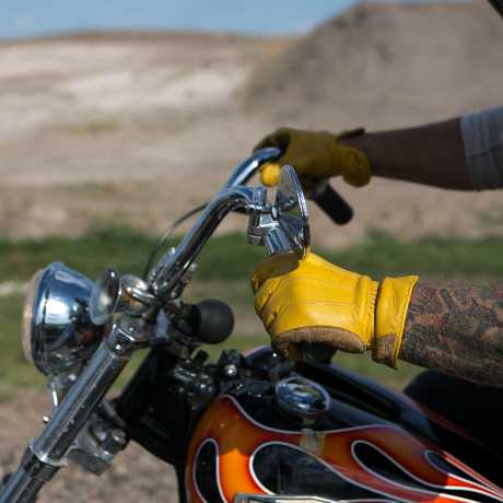 Biltwell Biltwell Work Gloves, gold  - 956967V