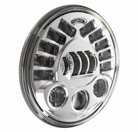 "JW Speaker JW Speaker 8790A, LED Adaptive 7"" Headlight insert, Chrome  - 89-0446"