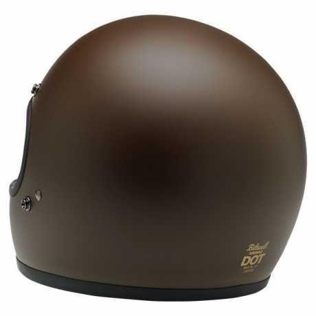 Biltwell Biltwell Gringo, Flat Chocolat DOT  - 89-2282V