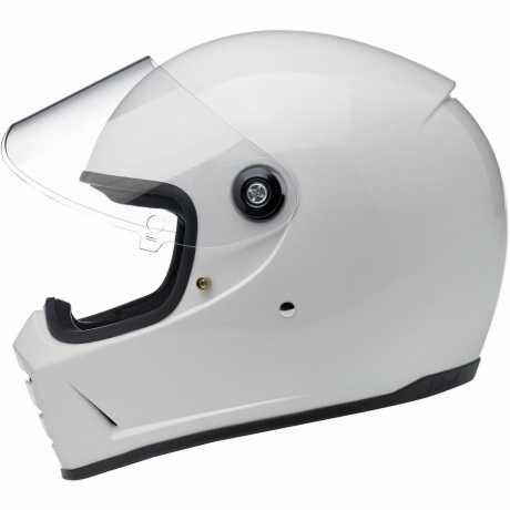 Biltwell Biltwell Lane Splitter Helm ECE, weiß  - 89-3164V