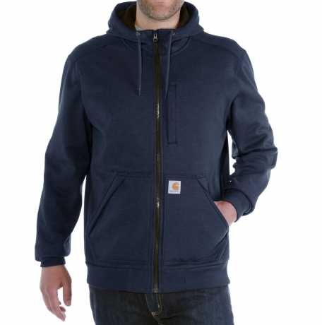 Carhartt Carhartt Wind Fighter Zip Hooded Sweatshirt, navy blue  - 89-4033V