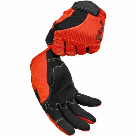 Biltwell Biltwell Moto Gloves Orange/Black/Yellow  - 91-0929V