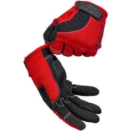 Biltwell Biltwell Moto Gloves Red/Black/White  - 567164V