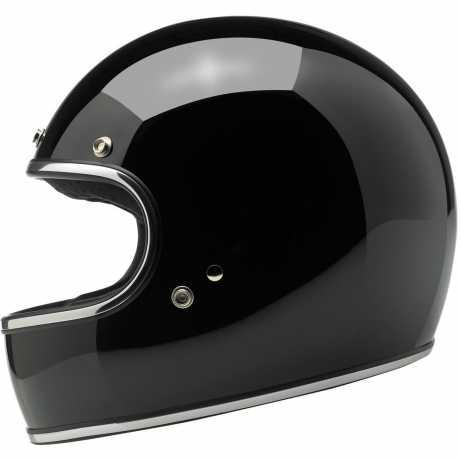 Biltwell Biltwell Gringo Helmet ECE, Gloss Black M - 569564