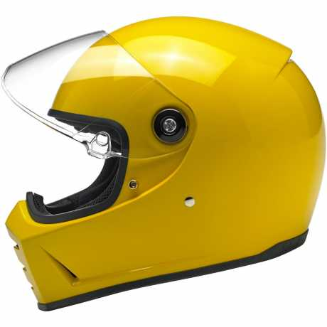 Biltwell Biltwell Lane Splitter Helm ECE Gloss Safe-T Yellow  - 91-2050V