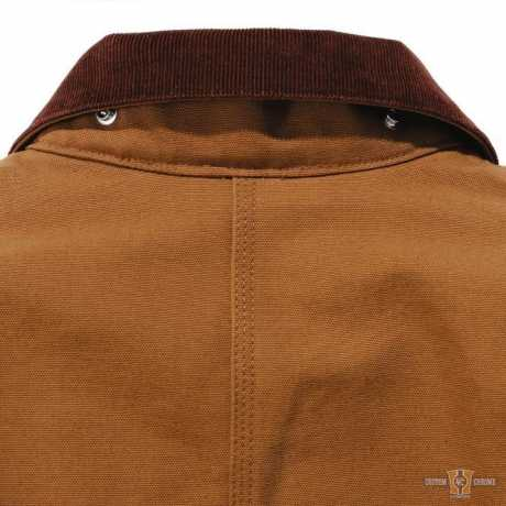Carhartt Carhartt Firm Duck Chore Coat Carhartt Brown  - 91-5470V