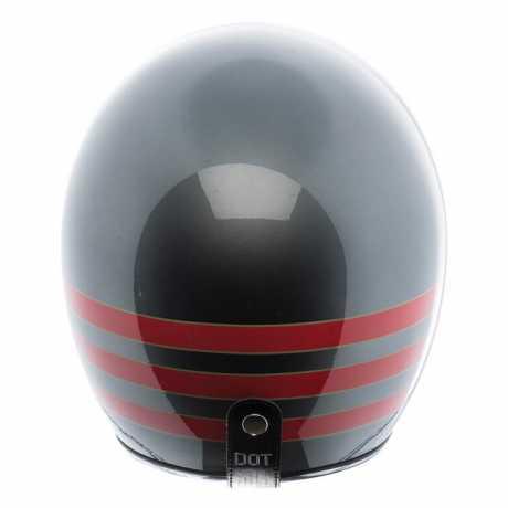 Torc Helmets Torc T-50 Jethelm Fastlane DOT Metallic Wine M - 91-6094