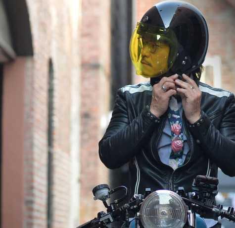 Torc Helmets Torc T-50 Classic 3/4 Open Face Helmet ECE gloss black  - 91-7942V